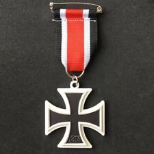 German IRON CROSS 1939 MEDAL Ribbon Military WW2 2nd Class REPRO Army Badge