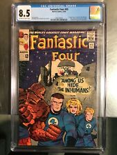 FANTASTIC FOUR 45 CGC 8.5 VF  GORGEOUS HIGH GRADE KEY IMPORTANT ISSUE 1965