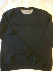 Calvin Klein Jeans, Sweatshirt, Size: M, Dark gray, Cotton