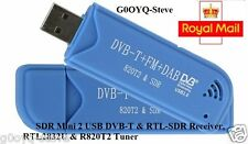 USB RTL ADS-B Receiver Set, MCX to SMA Cable Included. Feed Flightradar24