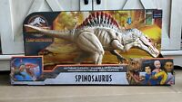 New! Jurassic World Extreme Chompin' Spinosaurus Dinosaur Action Figure In Hand