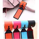 Leather Luggage Tags Labels Strap Name Address ID Suitcase Bag Baggage Travel ms