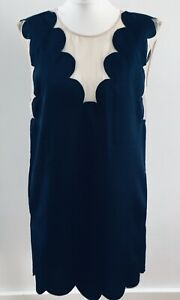 3.1 Phillip Lim-New With Tags-£490-Laser Cut Scallop Edge Shirt Dress-UK 8