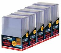 50 Ultra Pro 130pt 3x4 Super Thick Toploaders toploader New top loaders Jersey