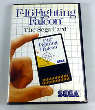 F-16 FIGHTING FALCON - Sega Master System SMS Complete -  Box & Manual TESTED