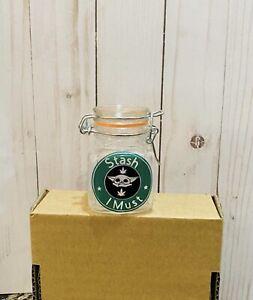 Baby yoda Jar, Storage Jar, Herb Jar, Stash Jar