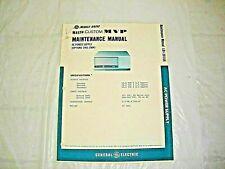 LBI30166 GE MASTR Custom MVP AC Power Supply Maintenance Manual (1901-1904)
