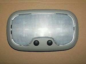 04-09 JEEP Compass Dodge Caliber Durango Dome Light with Twin Map Lights GRAY