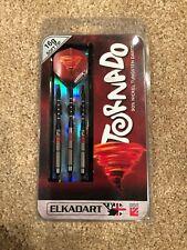 Elkadart Tornado Tungsten Soft Tip Dart Set 4 Red and 2 Black Rings 16 Grams