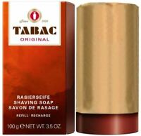 Tabac Shaving Soap Stick Refill 100g (3.5oz), U.S. Seller, Fast Shipping