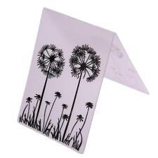 Dandelion Plastic Cutting Dies Stencil Scrapbooking Album Embossing Card Craft