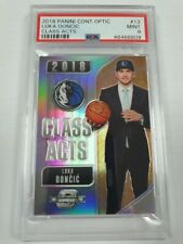2018 CONTENDERS OPTIC LUKA DONCIC CLASS ACTS HOLO RC PSA 9 SJ