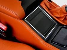 D BMW E39 Chrom Rahmen für Ablagefach Edelstahl poliert