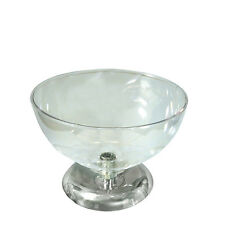 Clear Polycarbonate Single Bowl Counter Display 12D x 8.5H Inches