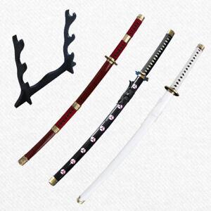 Anime Sword One Piece Sword Zoro Katana Sword Set Japanese Cosplay Sword UNSHARP