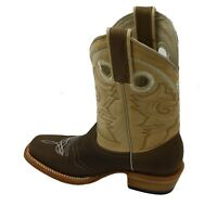Women genuine cowhide  leather square toe cowboy/girl boots