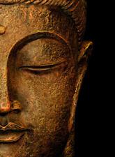SERENE BUDDHA * LARGE A3 SiZE QUALITY CANVAS ART PRINT