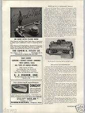 1955 PAPER AD Scripps 350 HP v-12 Chesapeake Bay Marina Article