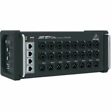 Behringer SD16 16-Channel I/O Stage Box Digital Snake Remote Controlable & USB
