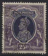 India 1937 KGVI 25r Fine used, sg 264