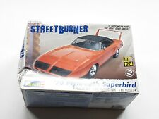 Revell Streetburner '70 Plymouth Superbird 1:24 Scale, partially assembled
