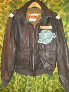 WWII, WW2, YOSSARIAN, Catch-22, COOPER, A-2 Leather Flight Jacket 46L, B-25 B-17