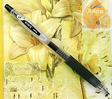 1 pc Pilot  LJU-10EF-B Juice Gel ink ball point pen 0.5mm,EXtra fine BLACK ink