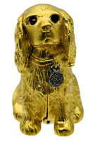 """Estée Lauder 2001 Collectible """"King Charles Spaniel"""" Compact W/Solid Perfume New"""