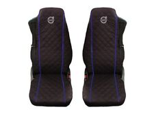 Volvo FH4 , FL , FE after 2014 Truck Seat Covers 2 piece BLUE PIPING