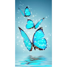 Cute Butterfly 5D DIY Diamond Painting Embroidery Cross Craft Stitch Home Decor