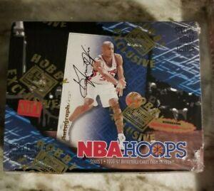 Factory Sealed 4 Box Lot Basketball Skybox, NBA Hoops Topp1996-97 KOBE RC year
