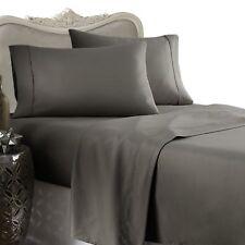 1500TC Egyptian Cotton ROUND BED SHEET SET Custom Deep Pocket Spa Blue