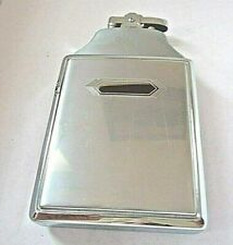 Vintage RONSON Mastercase lighter and cigarette case inbox with pouch