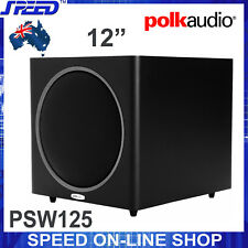 Polk Audio PSW125 300W 12-Inch Powered Subwoofer (Black) - Refurbished