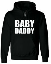 Baby Daddy, Personalised Hoodie Custom Hooded Men T Shirt Top Design