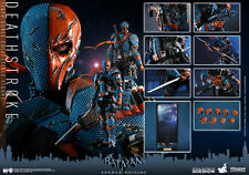 HOT TOYS DC BATMAN: ARKHAM ORIGINS DEATHSTROKE 1:6 FIGURE ~Sealed in Brown Box~