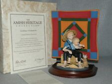 Willitts Amish Heritage First Edition 1993 ~Eli And Benjamin~ Artist Signed