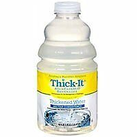 Thick-It Thick-It Aquacare Thickened Water Nectar Consistency, 46 oz (Pack of 6)