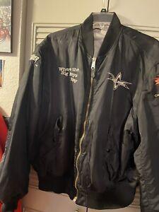 WCW Monday nitro Thunder bomber jacket XXL World Championship Wrestling Hulkster