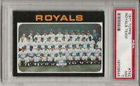 1971 TOPPS #742 ROYALS TEAM , PSA 7 NM, HIGH NUMBER, AMOS OTIS, L@@K !