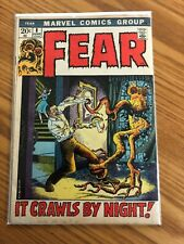 FEAR #8 (1972 Marvel Comics) VG/FN