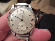 Swiss made Vertex wrist watch nos 3428245 c1950's Bonklip strap