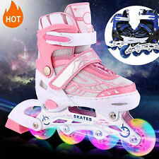 Roller Skates Adjustable Size for Kids/Adult 4 Wheels Children Boys Girls Gift*