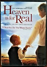 New listing Heaven Is for Real (DVD, Widescreen, 2014) Based On A True Story!