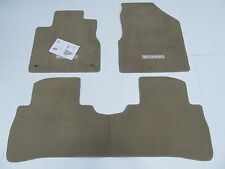 OEM 3pc Floor Mat Set (beige) For 10-14 Nissan Murano 999E2-CU001BE See Notes