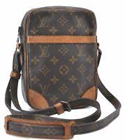 Authentic Louis Vuitton Monogram Danube Shoulder Bag M45266 LV B4065