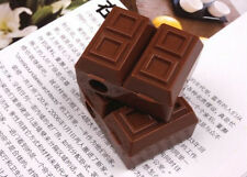 Creative Chocolate Mini Pencil Sharpener Rubber Eraser Mini cute for students PB