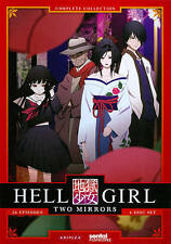 Hell Girl: Two Mirrors - Second Season (DVD, 2011, 4-Disc Set)-1829-371-004