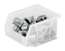 Stack and Hang Bin 5'' x 4-1/8'' x 3'', Box of 24 Clear