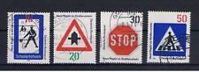 GERMANIA 4 FRANCOBOLLI 1971 usato  Nuove norme stradale
